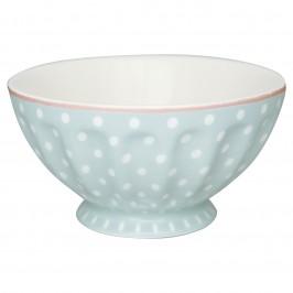 GreenGate French bowl xl Spot pale blue