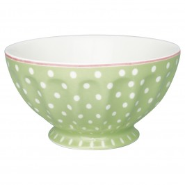 GreenGate French bowl XL Spot pale green-20