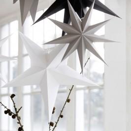 Star 9 point white stjerne fra House Doctor