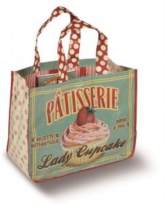 """Natives Indkøbstaske """"Lady Cupcake""""-20"""