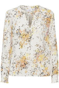 damebluse m. blomsterprint saint tropez