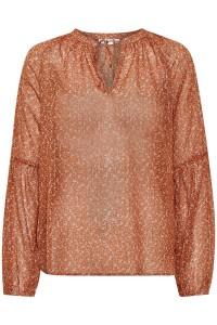 bluse orange saint tropez