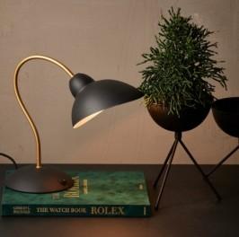 Speedtsberg Bordlampe i Matsort metal 120416