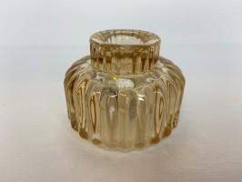 lille glas lysestage gul speedtsberg