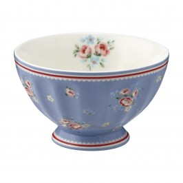 GreenGate Nicoline dusty blue French bowl