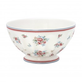 GreenGate Nicoline white french bowl fra Winter 2019