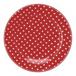 GreenGate Spot red tallerken fra Winter2019