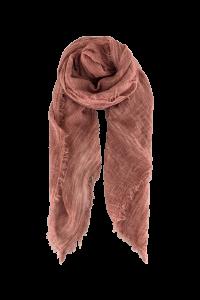 ensfarvet tørklæde rosa black colour