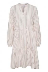 hvid stribet kjole saint tropez