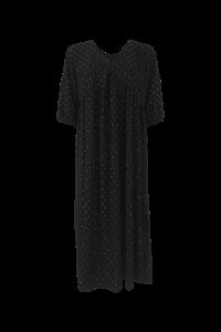 vigga maxikjole sort black colour