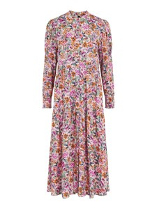 kjole med blomsterprint yas