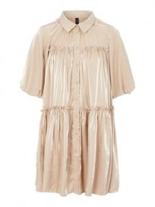 kort kjole creme yas