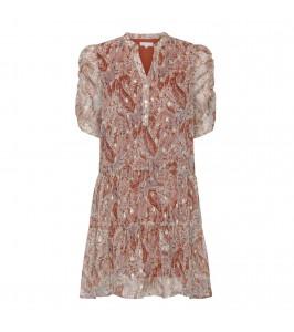 kort kjole paisly continue