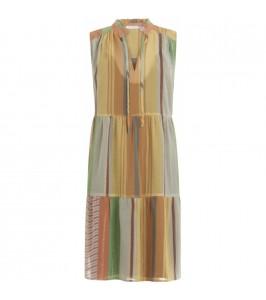 coster copenhagen kjole i print med lurex