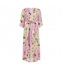 lang kjole i blomsterprint coster copenhagen