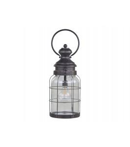 fransk stald lanterne m. pære chic antique