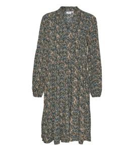kort kjole blomsterprint saint tropez