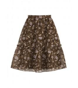 kort nederdel brun saint tropez