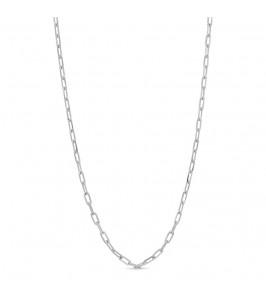 kort lænke halskæde sølv pure by nat