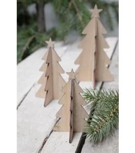 Ib Laursen juletræ i natur