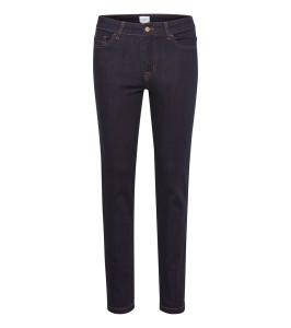 jeans slim mørkeblå denim saint tropez
