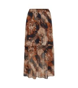 lang nederdel brun saint tropez
