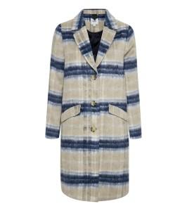 frakke ternet blå saint tropez