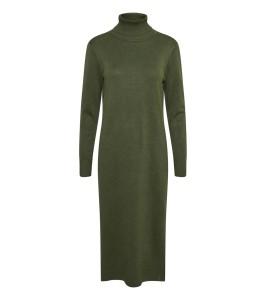 lang strikkjole army grøn saint tropez