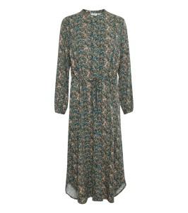 lang kjole blomsterprint saint tropez
