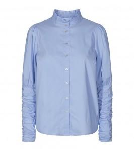 blå dameskjorte co couture