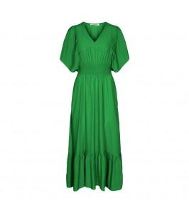 lang grøn kjole co couture