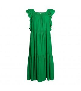 lang kjole grøn co couture