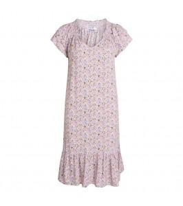 kort kjole blomsterprint lille co couture