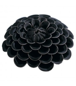 Gate Noir Dekoration Flower dark grey-20