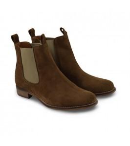 Amust Chelsea støvle i khaki