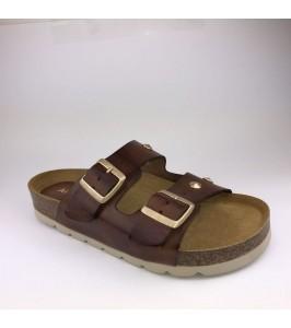Amust sandal frida cognac