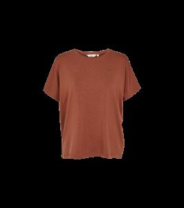 t-shirt brun basic apparel