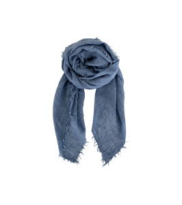 tørklæde blåt black colour