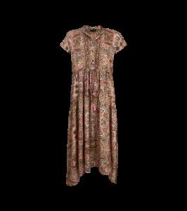 lang kjole luna kjole rosa black colour
