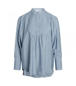 blå damebluse co couture