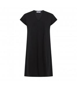 t-shirt kjole sort coster copenhagen
