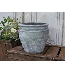 Chic Antique gammel fransk lerpotte 65333-00