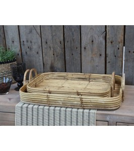 Chic Antique bakke i rattan
