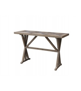 Chic Antique fransk bord af genbrugstræ | 40230-00