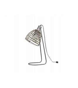 Chic Antique lampe med rattan skærm 71516-25