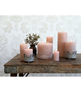 Dusty rose Macon bloklys fra Chic Antique