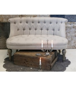 Chic Antique Fransk Sofa til 2 personer