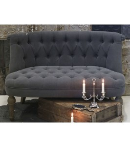 Chic Antique Fransk Sofa 41292-25 i 100% hør