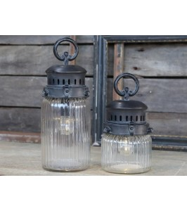 Chic Antique Fransk stald lanterne H22-20