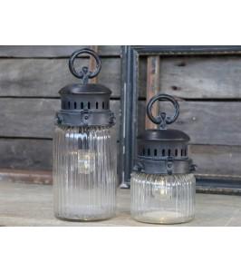 Chic Antique Fransk stald lanterne H30-20